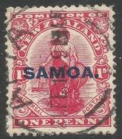 Samoa. 1914-5 Stamps Of NZ O/P. 1d Used SG 116 - Samoa