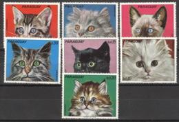 Paraguay 2434/40 ** Postfrisch Katzen - Paraguay