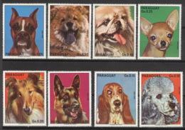 Paraguay 2655/62** Postfrisch Hunde - Paraguay