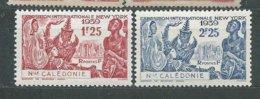 NOUVELLE-CALEDONIE N° 173/74 * TB 1 - Nuevos