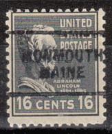 USA Precancel Vorausentwertung Preo, Locals Maine, Monmouth 703 - Vereinigte Staaten