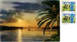 IRAQ  BAGHDAD  The Tigris Over The Suspension Bridge Nice Stamps  Scauting Theme - Iraq