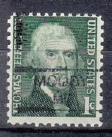 USA Precancel Vorausentwertung Preo, Locals Maine, Moody 835,5 - Vereinigte Staaten