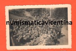 Alpini Al Campo Foto Di Posa Anni '30 - War, Military