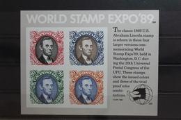 USA Block 21 Mit 2060-2063 ** Postfrisch #SY284 - Vereinigte Staaten