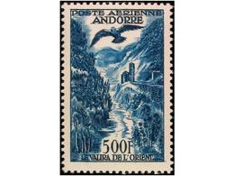 FRENCH ANDORRA - Sellos