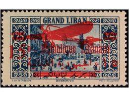 GRAND LIBAN - Gran Líbano (1924-1945)