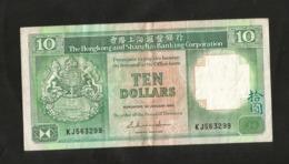 HONG KONG - SHANGHAI BANKING CORPORATION - 10 DOLLARS (1986) - Hong Kong