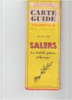 LE CANTAL Pays De La Gentiane  Carte Guide Touristique - Cartes Routières