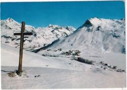 Station Du Lac De Tignes - Alt. 2100 M. - Vue D'ensemble, La Grande Sassière Et La Pointe Du Lavachet - Croix - (Savoie) - Albertville