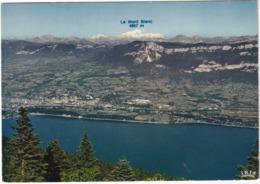 Aix-les-Bains - Le Revard, Le Lac Du Bourget Et Le Mont Blanc (4807 M) -  (Savoie) - Aix Les Bains