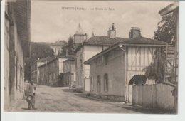 FRANCE / CPA  DE SOMSOIS / LES HOTELS DU PAYS / 1918 - France