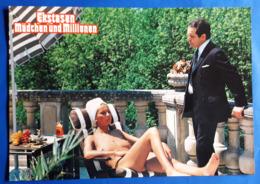 """Erotik-Kino-Film """"Ekstasen, Mädchen Und Millionen"""" (nude - Woman - Nackt) # Original Altes Kinoaushangfoto # [19-546] - Fotos"""