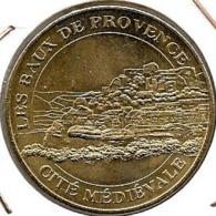 Jeton Touristique 13 Les Baux De Provence 2004b - Monnaie De Paris