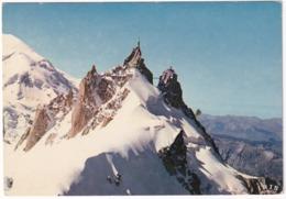 Chamonix-Mont Blanc - Téléphérique De L'Aiguille Du Midi (3842 M) -  (Haute-Savoie) - Chamonix-Mont-Blanc