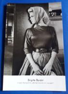 """Portrait BRIGITTE BARDOT Im Film """"Wollen Sie Mit Mir Tanzen?"""" # Alte Rüdel-Star-Foto-AK # [19-812] - Schauspieler"""