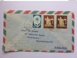 PORTUGAL 1964 Air Mail Cover Lisbon To Bournemouth England - 1910-... République