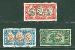 Haïti; Timbres Scott Stamps # 335-337; Usagés / Used. (8094) - Haïti