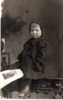 Studiofoto Kind Mädchen Ca 1930 - Fotografie