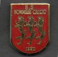 S.S. Sommese Calcio Lombardia Somma Lombardo Varese Gadget Soccer Football Distinguès Pins - Calcio