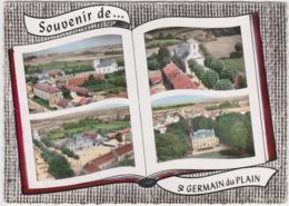 Souvenir De Saint Germain Du Plain ( Livre Ouvert ) - Francia
