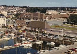 14 Deauville - Trouville, Le Port Et La Gare - Deauville