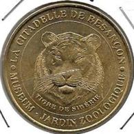 Jeton Touristique 25 Besançon Tigre 2002 - 2002
