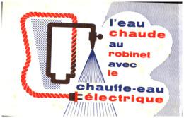 E E/Buvard Electricité Eau Chaude    (Format 21 X 13) (N= 5) - Electricité & Gaz
