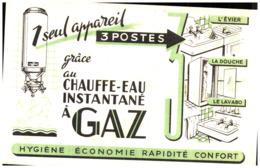 E E/Buvard Electricité Eau Chaude    (Format 21 X 13) (N= 6) - Elektrizität & Gas