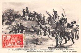 1954 .carte Maximum .france .102303 .legion D Honneur .camp De Boulogne .cachet Boulogne Sur Mer . - Cartes-Maximum