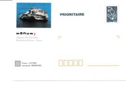 PAP TSC Neuf Monum Château D'If à Marseille - Marianne De Lamouche Bleue - Lot B2K/0509433 - Biglietto Postale