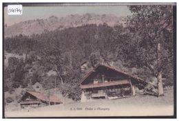 CHAMPERY - UN CHALET - TB - VS Wallis