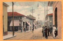 Saludo De Caracas Venezuela 1910 Postcard - Venezuela