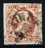Holanda Nº 2 Usado Cat.35€ - 1852-1890 (Guillaume III)