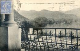 31 - Vue Prise D'un Balcon Du Grand Hotel De Barbazan - Barbazan