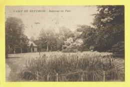 * Leopoldsburg - Kamp Van Beverloo (Limburg) * (Edition Loosvelt Adeline) Intérieur Du Parc, Park, Caserne, Armée Belge - Leopoldsburg (Camp De Beverloo)