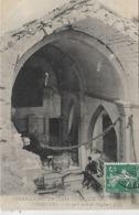 13, Bouches-du-Rhône, VERNEGUES, Tremblement De Terre Du 11 Juin 1909 - Ce Qui Reste De L'Eglise, Scan Recto Verso - Altri Comuni