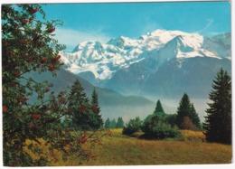 Le Mont-Blanc (4807 M) - (Haute-Savoie) - Chamonix-Mont-Blanc