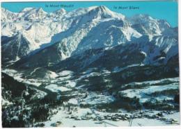 Les Houches Mont-Blanc - La Station Au Pied Du Massif  Du Mont Blanc  - (Haute-Savoie) - Chamonix-Mont-Blanc