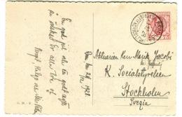 Stampa Rara ISTITUTO INTERNAZIONALE AGRICOLTURA ROMA 64 Su Cartolina 1928 - Marcophilia