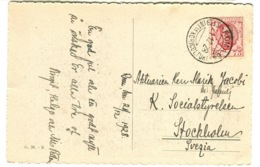 Stampa Rara ISTITUTO INTERNAZIONALE AGRICOLTURA ROMA 64 Su Cartolina 1928 - 1900-44 Vittorio Emanuele III