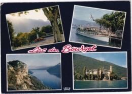 Lac Du Bourget - Lamartine Et Dent Du Chat, Départ Pour Hautecombe, Chambotte, Abbaye - MS 'La Savoie'  - (Savoie) - Le Bourget Du Lac