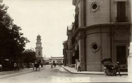 Malay Malaysia PENANG, Clock Tower, Eastern Extension Telegraph Co. (1910s) RPPC - Malaysia