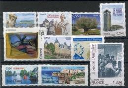 RC 13605 FRANCE 2008 LOT DE TIMBRES A LA FACIALE NEUFS ** - Francia