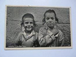 CARTE PHOTO  - PALESTINE ; Enfants Yemenites - Cartes Postales