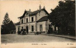 CPA BUSSANG - La Gare (279428) - Bussang