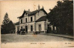 CPA BUSSANG - La Gare (279434) - Bussang