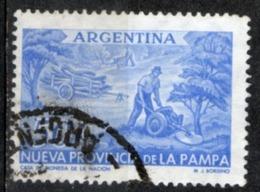 Argentina 1956 - La Pampa Abbattimento Alberi Felling Trees - Argentina