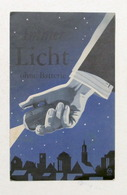 Pubblicità Philips - Brochure Dynamo Taschenlampe - Lampada Tascabile - 1940 - Pubblicitari