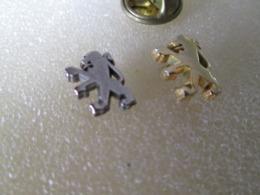 PIN'S   LOT 2  LOGO   PEUGEOT - Peugeot